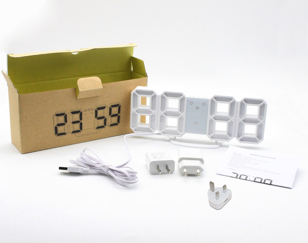 Laser Entfernungsmesser Jumbo : Digital wecker mit usb lade jumbo d ziffern snooze für schwere