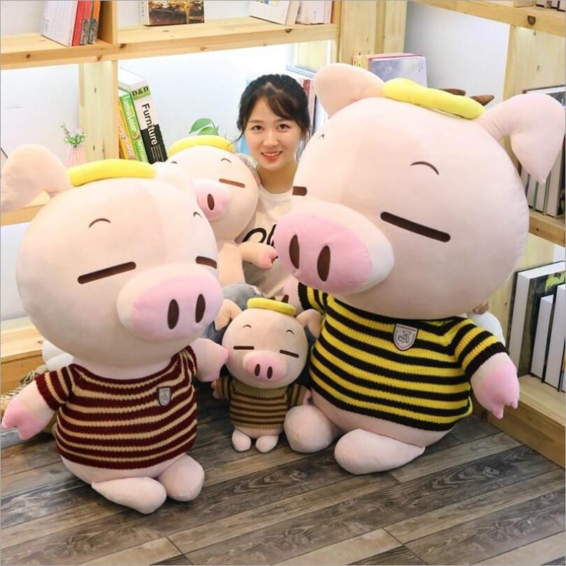 New Styel Lovely Angel Pig Soft Plush Toy Stuffed Animal Plush Doll Birthday Gift Send to Children Girlfriend in Stuffed Plush Animals from Toys Hobbies