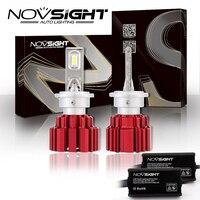 2 Pcs Novsight Headlights D1s D2s D3s D4s D1r D2r D3r D4r Auto Led Light 80w