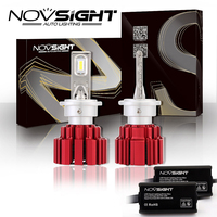 2 Pcs Novsight Headlights D1s D2s D3s D4s D1r D2r D3r D4r Auto Led Light 80w