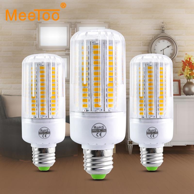Bombillas Mais Birne E27 SMD 5730 Lamparas LED Lampe 24 30 42 64 80 89 108 136 Leds Lampada E27 220 V 110 V Ampulle Kerze Luz Licht
