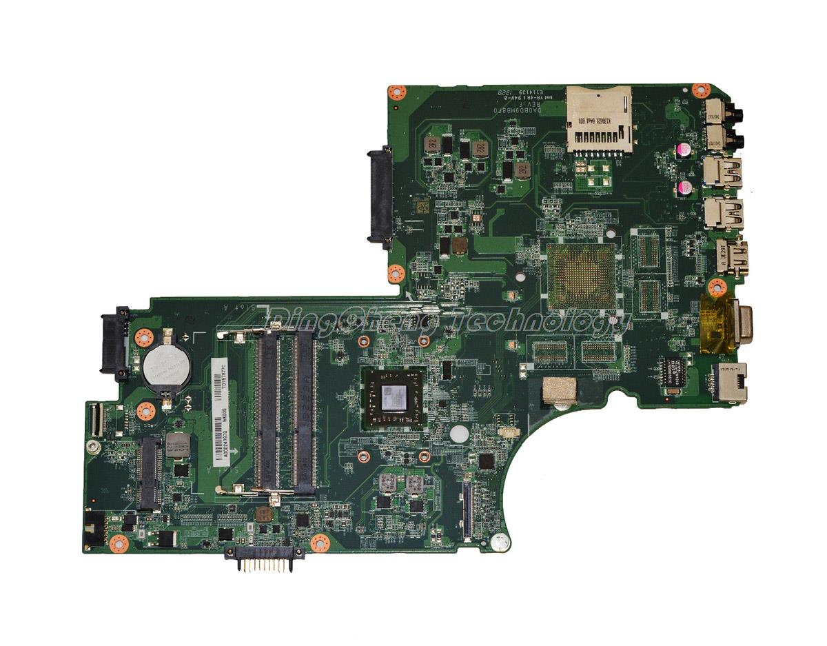 SHELI laptop Motherboard For Toshiba Satellite C75D DA0BD9MB8F0 A000243970 DDR3 integrated graphics card 100% fully tested