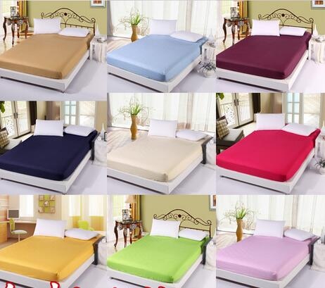BD124 New fitting sheet bedspread Pure cotton satin bed spread flannelette single bed Mikasa mattress dust protection sheet