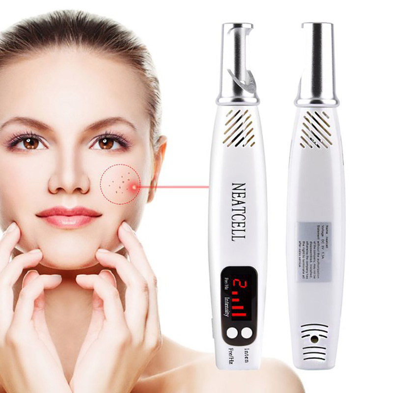 Professional Laser Picosecond Pen Blue Red Tattoo Remove Pen Freckle Acne Mole Dark Spot Pigment Removal Machine-in Face Skin Care Tools from Beauty & Health    1