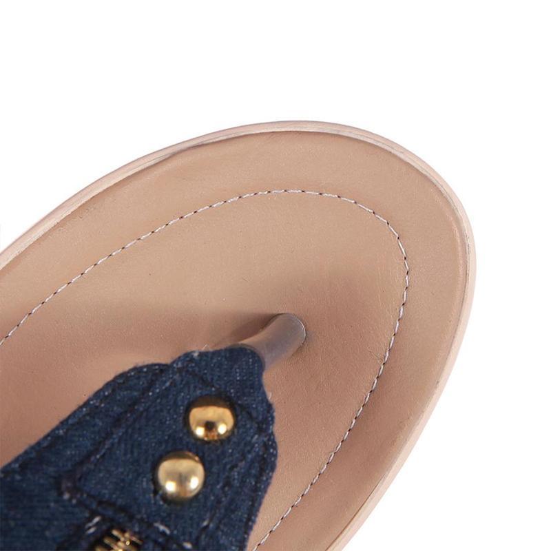 Wedges Shoes For Women High Heel Summer Ladies Gladiator Sandals Woman Platform Cowboy Zipper Sandalias Mujer 2018 hj98 18