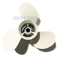 Oversee aluminum propeller 664 45949 02 el size 9 7 8x13 f for yamaha 25hp 30hp.jpg 200x200