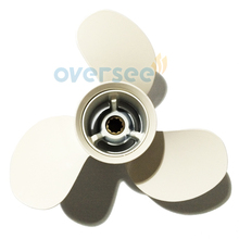 OVERSEE Aluminum Propeller 664-45949-02-EL size 9 7/8×13-F for Yamaha 25HP 30HP Outboard Engine69P 61N 9-7/8×13-F