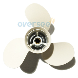 Oversee aluminum propeller 664 45949 02 el size 9 7 8x13 f for yamaha 25hp 30hp.jpg 250x250