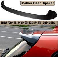 JIOYNG Carbon Fiber CAR REAR WING TRUNK LIP SPOILER FOR BMW F20 F21 116i 118i 120i