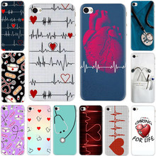 Nurse Medical Medicine Health Heart Hard phone Cover case for iPhone 5 5S 6 6s 7 8 plus X XR XS 11 Pro Max(China)