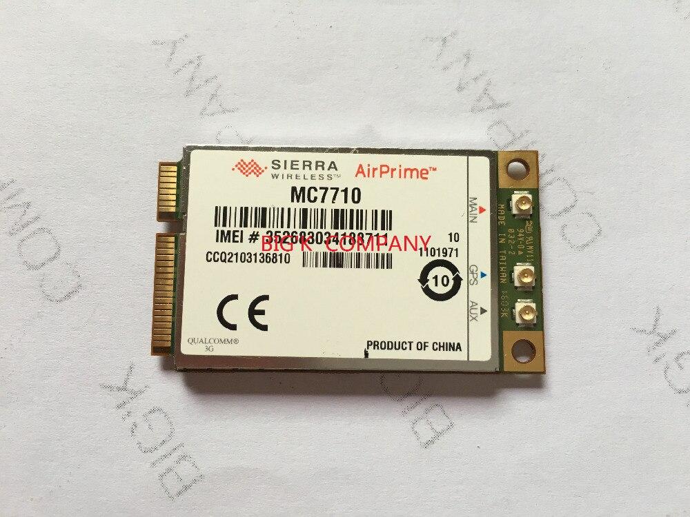 4G 3G module WWAN Card 800//900//2100MHz Unlocked Sierra AirPrime MC7710 LTE//HSPA