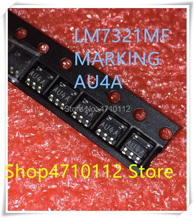 NEW 10PCS LOT LM7321MF LM7321 MARKING AU4A SOT23 5 IC