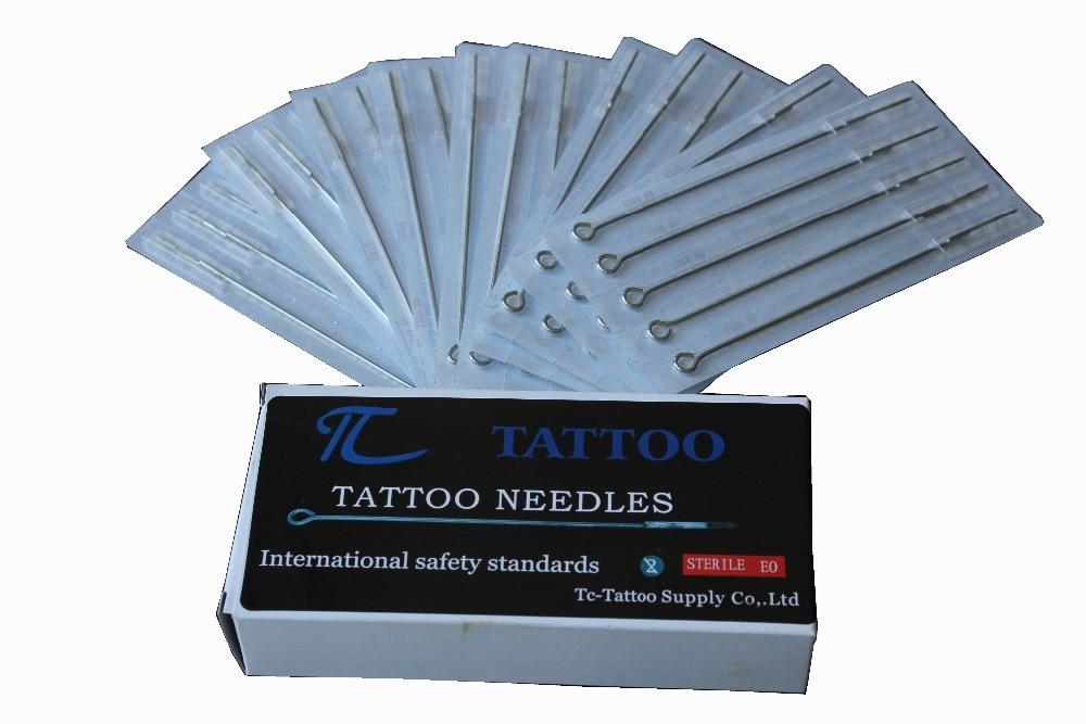 Agulha de Tatuagem Livre Aço Stianless Agulhas Médica