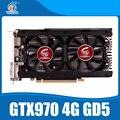 Placa de vídeo nvidia geforece gtx970 4 gb gddr5 256bit 5000 mhz cartão de jogo