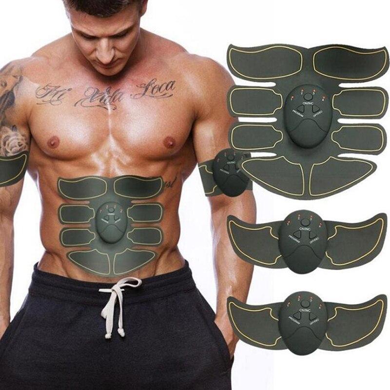 Neue Smart EMS Elektrischen Impuls Behandlung Massager Bauch Muskel Trainer Drahtlose Sport Muscle Fitness 8 Packs Körper Massager