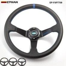 14 дюймов 350 мм Epman Deep Corn Дрифтинг ПВХ Руль Универсальный Автомобильный гоночный руль EP-FXP7709