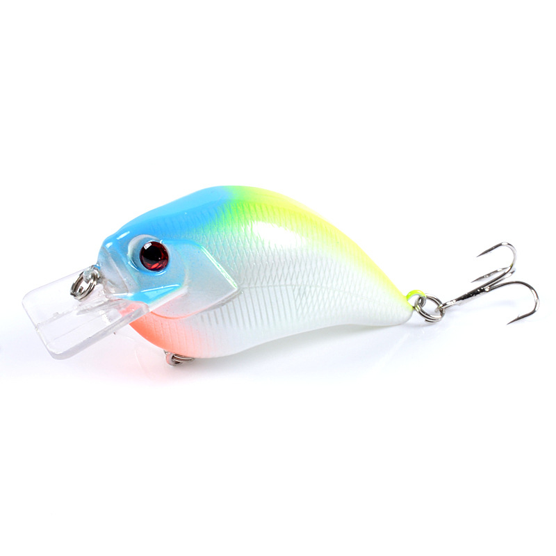 1pcs Crankbait Fishing Lure 7.5cm/15.2g Swim bait Crank Bass Wobblers Artificial Plastic Hard Bait Carp Fishing