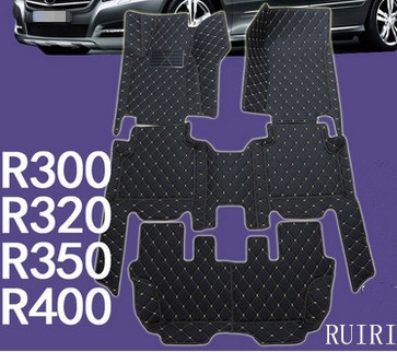 Best quality! Special car floor mats for Mercedes Benz R 400 500 550 W251 7 seats 2017-2006 waterproof carpets,Free shipping