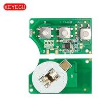 Keyecu Замена дистанционного пульта Fob 3 Button 434 мГц для Фольксваген-5K0 959 753 n без Оболочки