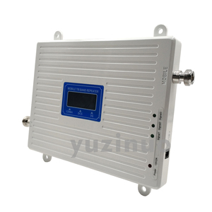 Image 3 - 65dB 2G 3G 4G Tri Band Signal Booster CDMA 850+DCS/LTE 1800+WCDMA/UMTS 2100 Cell Phone Signal Repeater Mobile Cellular Amplifier