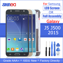 J500 LCD For Samsung Galaxy J5 2015 J500F Adjustable Backlight J500H J500FN J500M J500Y Touch Screen LCD Display Assembly Frame touch digitizer lcd display assembly gold for samsung galaxy j5 j500 j500f j500y j500m