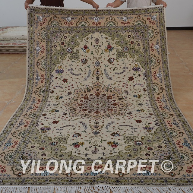 Yilong 6 X9 Oriental 100 Wool Handmade Carpet Chinese Hand Knotted