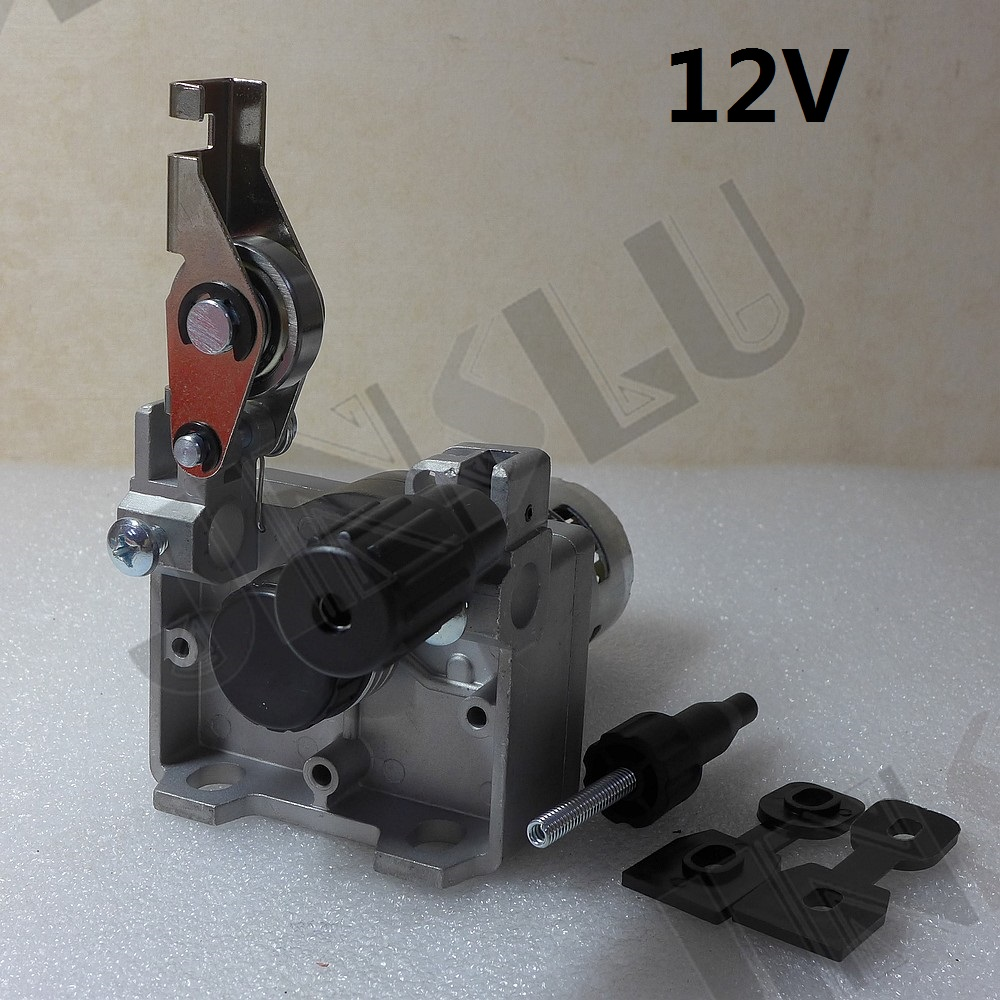 12V 0.8-1.0mm ZY775  Wire Feed Assembly Wire Feeder Motor MIG MAG Welding Machine Welder without Connector MIG-160 professional 24v wire feed assembly 0 6 0 8mm 023 03 detault wire feeder mig mag welding machine european connector en60974