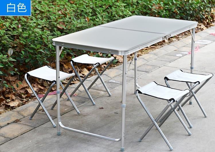Muebles De Jardin Wicker Rattan Furniture Wooden Folding Table ...