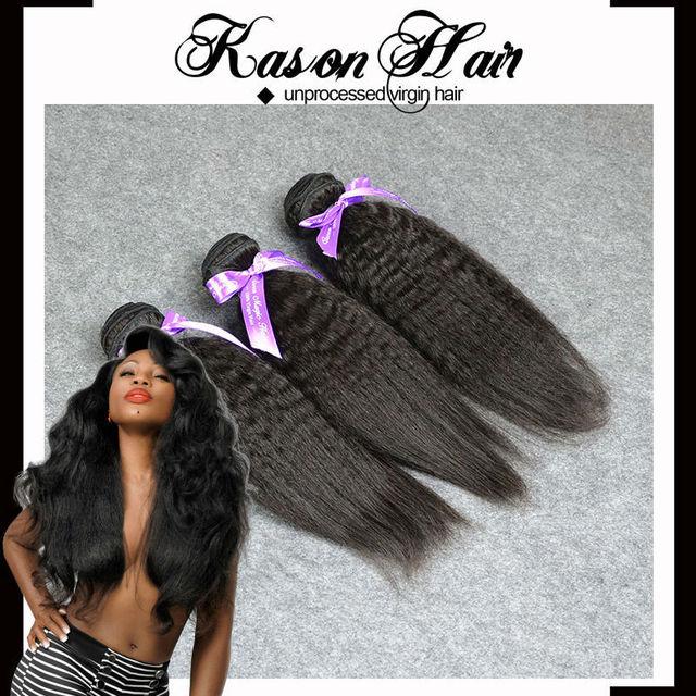 Wholesale Price Peruvian Hair Italian Yaki Sew In Hair Extensions