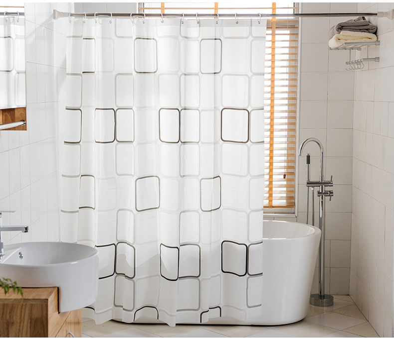 Bathroom Hardware Home Improvement Superior 12pcs Shower Bath Bathroom Curtain Rings Clip Pinch Clasp Closure Design Easy Glide Hooks Chrome Plated Stylish