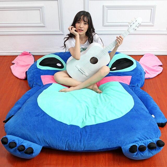 Anime Sch Sleeping Bag Giant Soft Plush Cartoon Beanbag Bed Carpet Mattress Gift Home