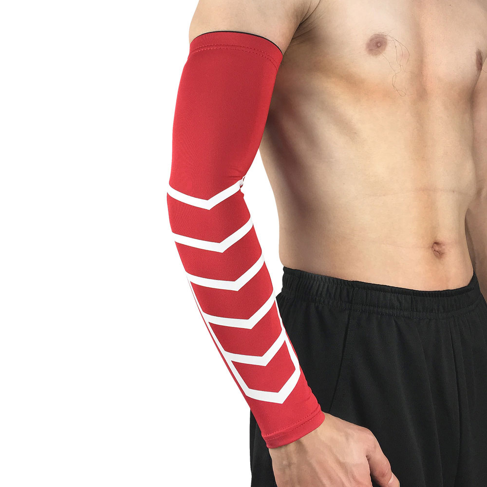 Apparel Accessories Basketball Protective Gear Sports Elastic Arm Sleeve Elbow Pads Arm Guard Spslf0034 Men's Accessories
