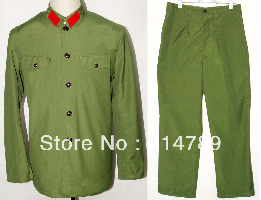 REPRO VIETNAM WAR CHINESE EM FIELD UNIFORMS IN SIZES 31387