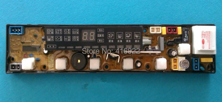 Free shipping 100% tested for washing machine board xqb56-8856 original motherboard ncxq-qs09fb on sale free shipping 100% new and original for washing machine board sc11210492 ncxq qs492fb q 207 qs492 1fb motherboard good working