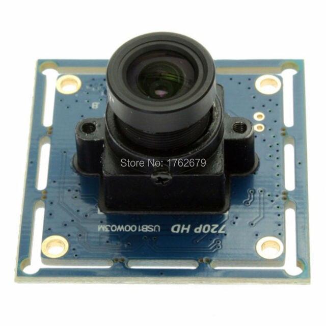 New product CCTV surveillance HD cmos OV9712 1.0megapixel 720P usb inspection camera module ELP-USB100W03M-L21