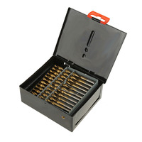 60PCS HSS Cobalt Twist Drill Bits For Hard Metal Stainless Steel Wood w/Box