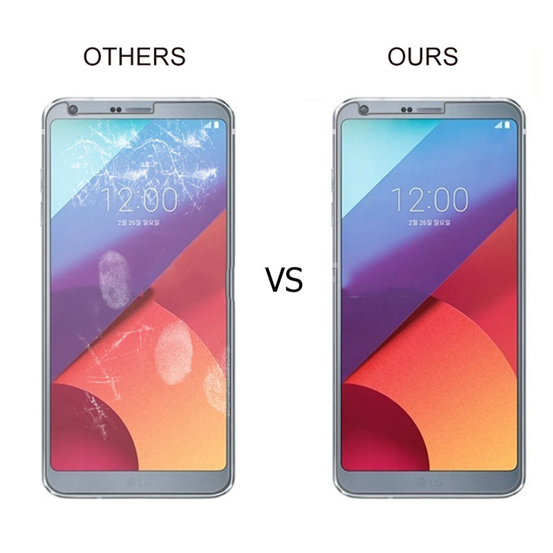 Image 4 - RONICAN Tempered Glass for LG G6 Screen Protector 9H 2.5D 0.26MM Phone Protection Film for LG G6 Tempered Glass-in Phone Screen Protectors from Cellphones & Telecommunications