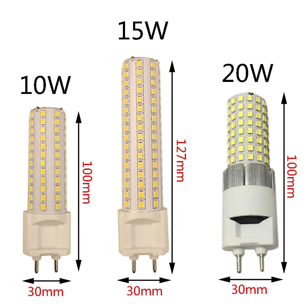 G12 Led Corn Light 10w 1000lm 15w 1500lm 20w 2400lm