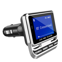 Bluetooth FM Transmitter Wireless Car MP3 Player Handsfree Radio Adapter LCD Screen Car Kit USB Charger Support A1