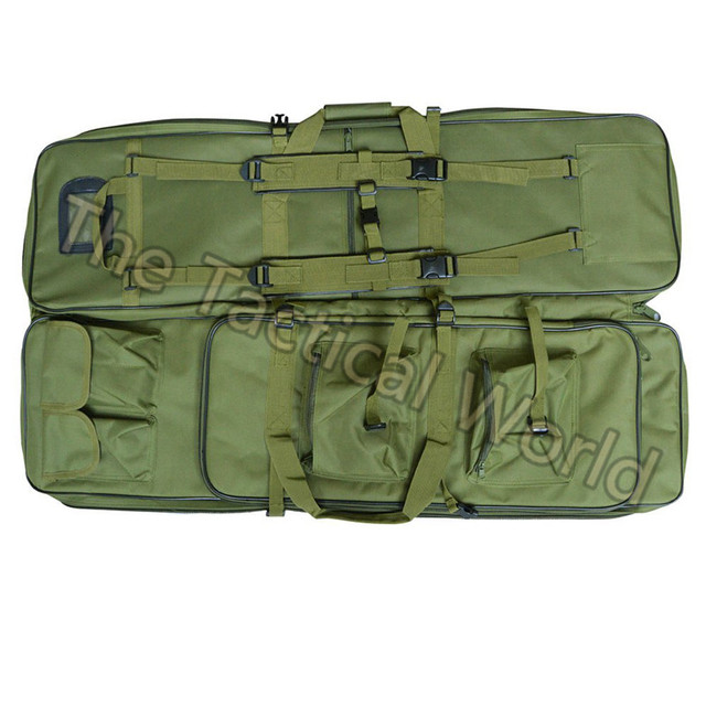 Outdoor Tactical Airsoft 120 100 85 cm Gun Bag Case Rifle Bag Military Hunting Backpack Rifle case Square Carry Bags Accessories 3