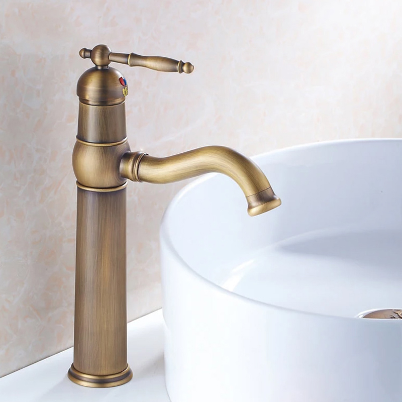 2017 Bathroom Faucet Copper Single Hole Basin Wash Antique Faucet Vintage Rotating Hot And Cold Kitchen Sink Vegetables   GZ7403 pastoralism and agriculture pennar basin india