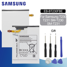 Original Battery For SAMSUNG T230 EB-BT230FBE 4000mAh For Samsung Galaxy Tab 4 7.0 SM-T230 T231 T235 Replacement Tablet Battery цена
