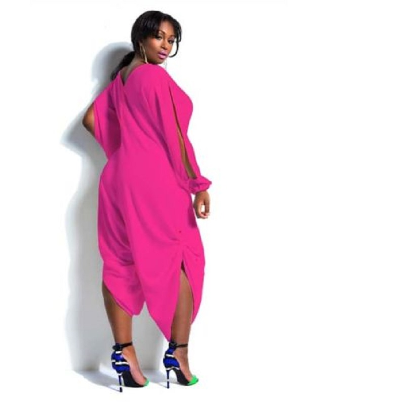 f1b45762a2a Plus Size Sexy Women Summer Loose Chiffon Romper Baggy Harem Jumpsuit  Playsuit-in Jumpsuits from Women s Clothing on Aliexpress.com
