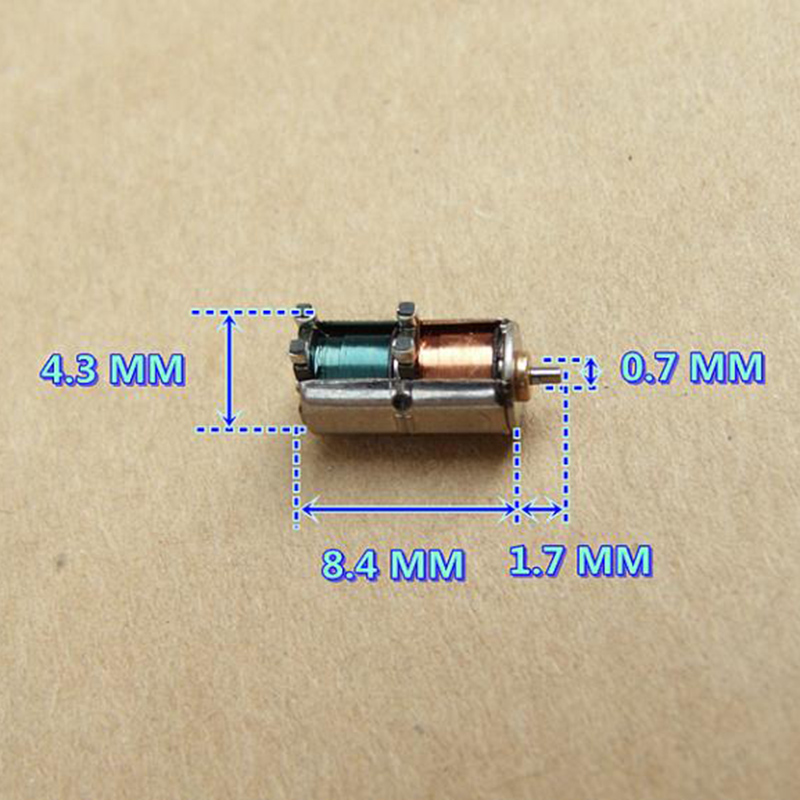 10 шт. Япония SANYO Mini 4 мм 2-фазный шаговый двигатель 4-проводной DC 5V точность Шаговый двигатель 4,3 мм* 8,4 мм, Фурнитура для бижутерии, Камера часть