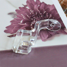 1Pcs Plastic Clear Color Quilting Sewing Machine Foot New One-piece Embroidery Home Accessories