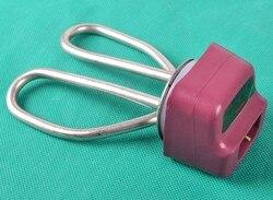 110V stainless steel prevent edry burn heater pip,heating element 1500w /1000 w