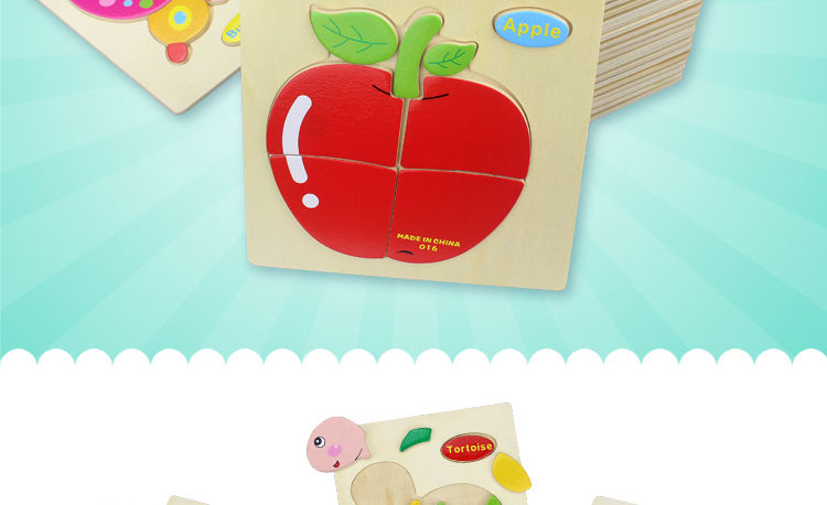 Educational Cute Jigsaw Animal 2