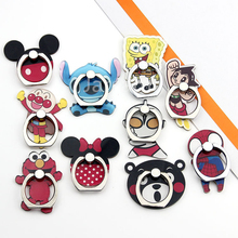 Universal Finger Ring Mobile Cell Phone Cartoon Stand Holder Bracket Portable holder mobile phone stand car