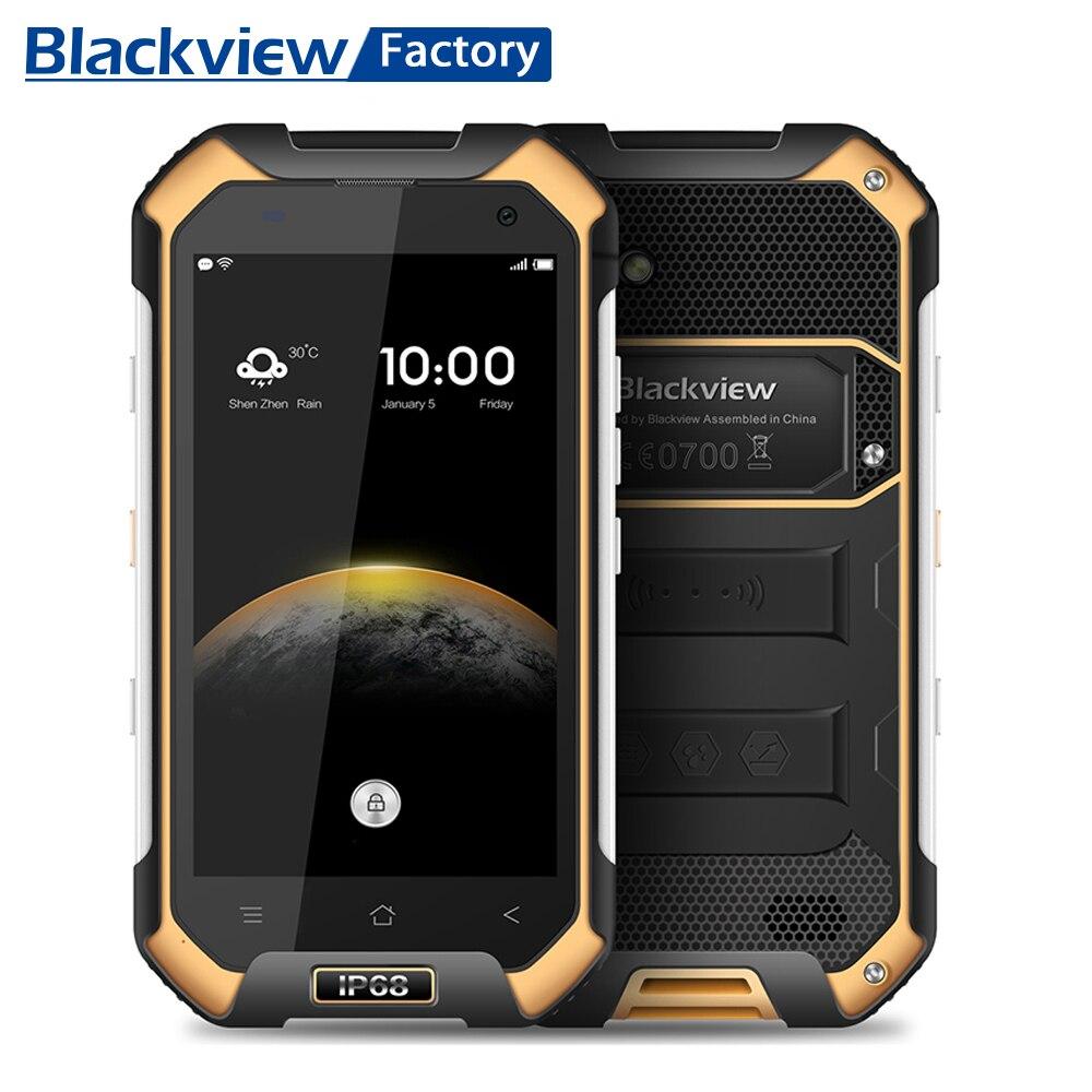 "Blackview BV6000s IP68 Водонепроницаемый смартфон 4.7 ""HD MT6737 4 ядра мобильный телефон 2 + 16 ГБ 13.0mp Камера 4 г android 7.0 мобильный телефон"