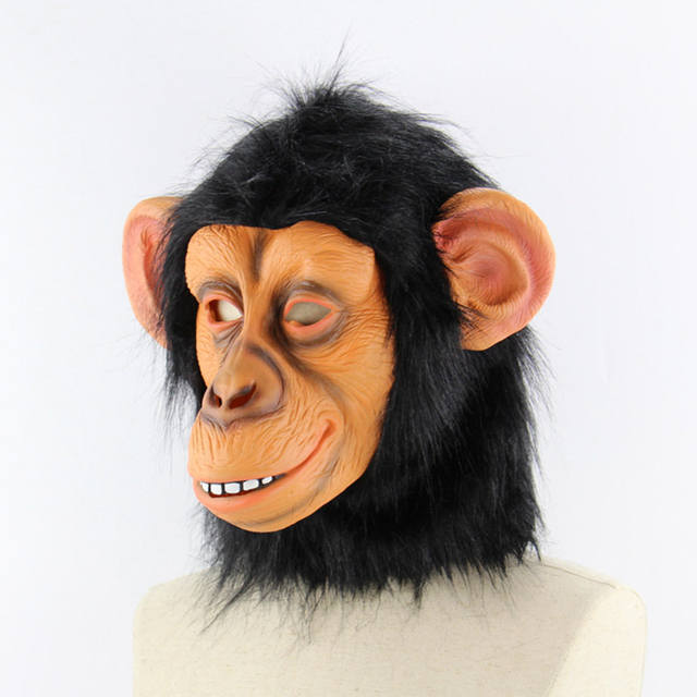 Realistic Monkey Latex Mask